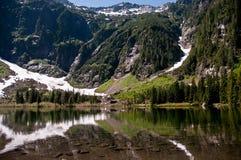 wrzosu jezioro obraz royalty free