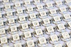 Ws2812b leidden rgb diodenmatrijs Royalty-vrije Stock Foto