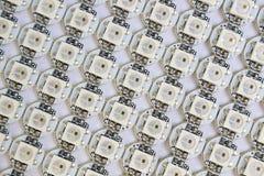 Ws2812b a mené la matrice de diods image libre de droits