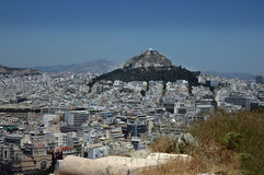 WS miasto Ateny Obrazy Royalty Free
