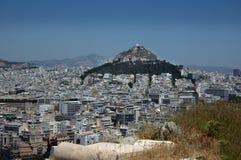Ws-stad av Aten Royaltyfria Bilder