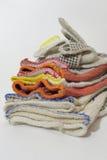 Wsad ochronne bawełniane ślizganie rękawiczki dla przemysłowego worke obraz royalty free
