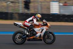 WSBK2015 - Round2 - Chang International Circuits, Buriram, Tailandia Fotografia Stock Libera da Diritti