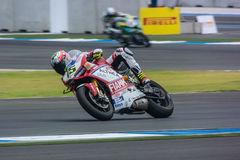 WSBK2015 - Round2 - Chang International Circuits, Buriram, Thaïlande images libres de droits