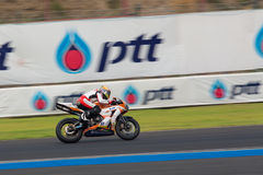 WSBK2015 - Round2 - Chang International Circuits, Buriram, Thailand Royalty-vrije Stock Afbeeldingen