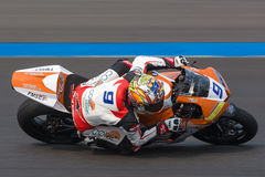 WSBK2015 - Round2 - Chang International Circuits, Buriram, Thailand Royalty-vrije Stock Afbeelding