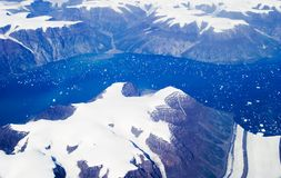 wschód Grenlandii zdjęcia stock