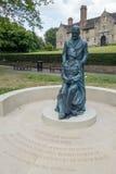 WSCHÓD GRINSTEAD, ZACHODNI SUSSEX/UK - CZERWIEC 13: McIndoe pomnik w E Obraz Stock