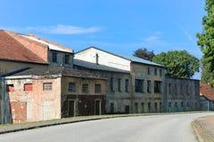 Wschód - niemiecki handlowy budynek Obraz Stock