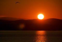 Wschód słońca 04 Fotografia Stock