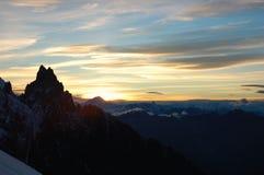 wschód słońca. Fotografia Royalty Free