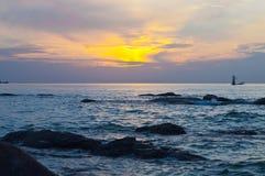 Wschód słońca. Fotografia Stock