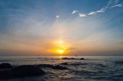 Wschód słońca. Zdjęcia Royalty Free