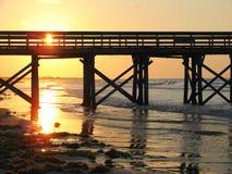 wschód słońca. Zdjęcia Stock