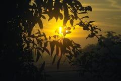 wschód słońca zdjęcie stock