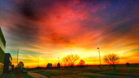 Wschód słońca 2 Fotografia Royalty Free