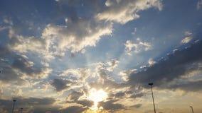 Wschód słońca Zdjęcia Stock