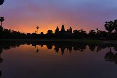 Wschód słońca Angkor Wat Zdjęcia Royalty Free