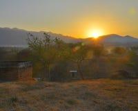 Wschód słońca | Atoyac, Meksyk Fotografia Stock