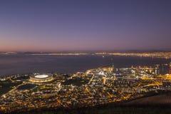 Wschód słońca Capetown Południowa Afryka obraz royalty free