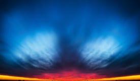 Wschód słońca chmura Zdjęcie Stock