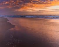 Wschód słońca chmury obrazy royalty free