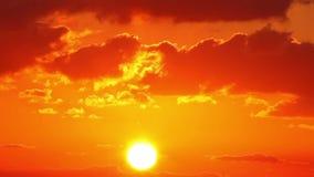 Wschód słońca (czasu upływ) zbiory wideo
