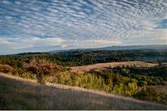 wschód słońca dolina Obraz Royalty Free