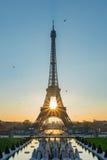 Wschód słońca doskonale wyrównuje zdjęcia stock