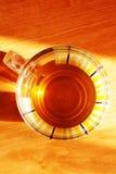 wschód słońca herbata Obraz Royalty Free