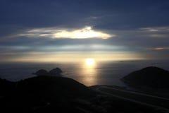 Wschód słońca Matsu Zdjęcie Royalty Free