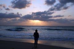 wschód słońca myśli obrazy stock