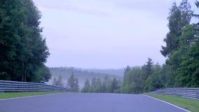 Wschód słońca na autostradzie zdjęcie wideo