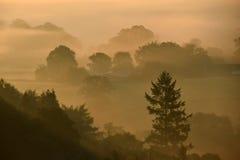 Wschód słońca na Dartmoor zdjęcie royalty free