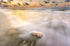 Wschód słońca na Hilton głowy wyspie Obraz Stock