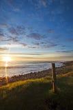 Wschód słońca na klepnięciu Zdjęcia Royalty Free