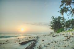 wschód słońca na oceanie indyjskim Zdjęcie Stock
