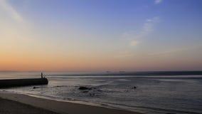 Wschód słońca na wybrzeżu Zdjęcie Royalty Free