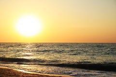 wschód słońca nad morza czarnego Zdjęcia Stock