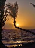 wschód słońca nad ocean Zdjęcia Royalty Free