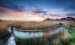 Wschód słońca nad Poole schronieniem Obraz Stock