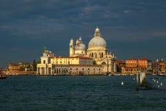Wschód słońca nad Wenecja. zdjęcie royalty free