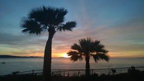 Wschód słońca od kampusu punktu Fotografia Stock