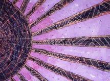 Wschód słońca - płatowaty akrylowy obraz Obrazy Stock