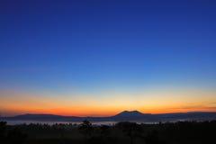 Wschód słońca Park Zdjęcie Stock
