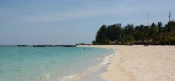 Wschód słońca plaża Ko Lipe Satun prowincja Tajlandia Zdjęcia Royalty Free