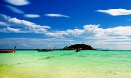 Wschód słońca plaża w Koh Lipe Obraz Royalty Free