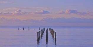 wschód słońca pokojowy spokój Obrazy Royalty Free