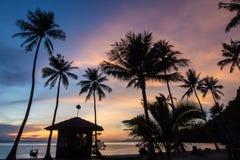 Wschód słońca przy Angthong wyspą Obraz Royalty Free