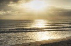 Wschód słońca przy Canaveral obywatelem Seshore zdjęcia royalty free